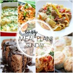 Easy Meal Plan Sunday #41