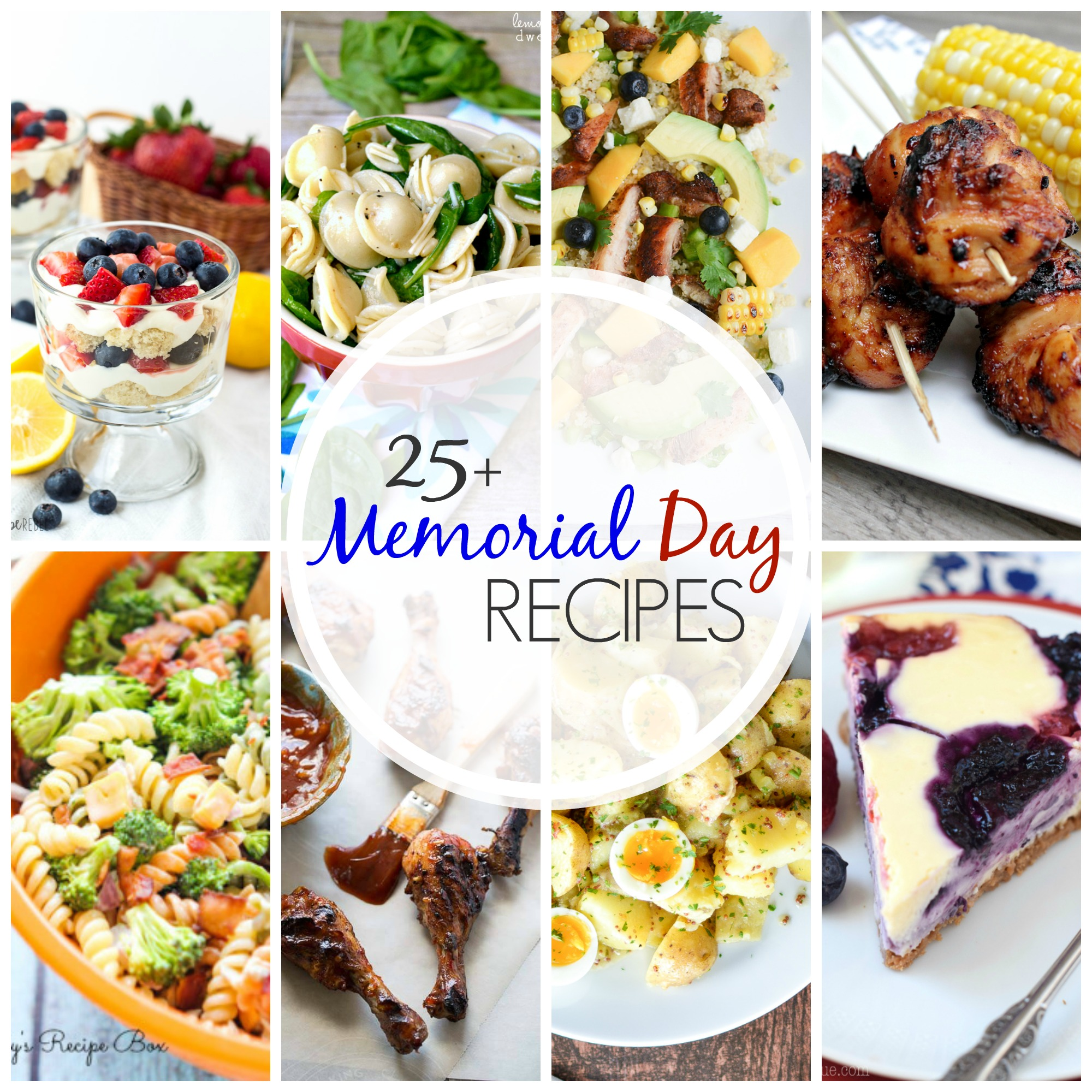 25+ Memorial Day Recipes