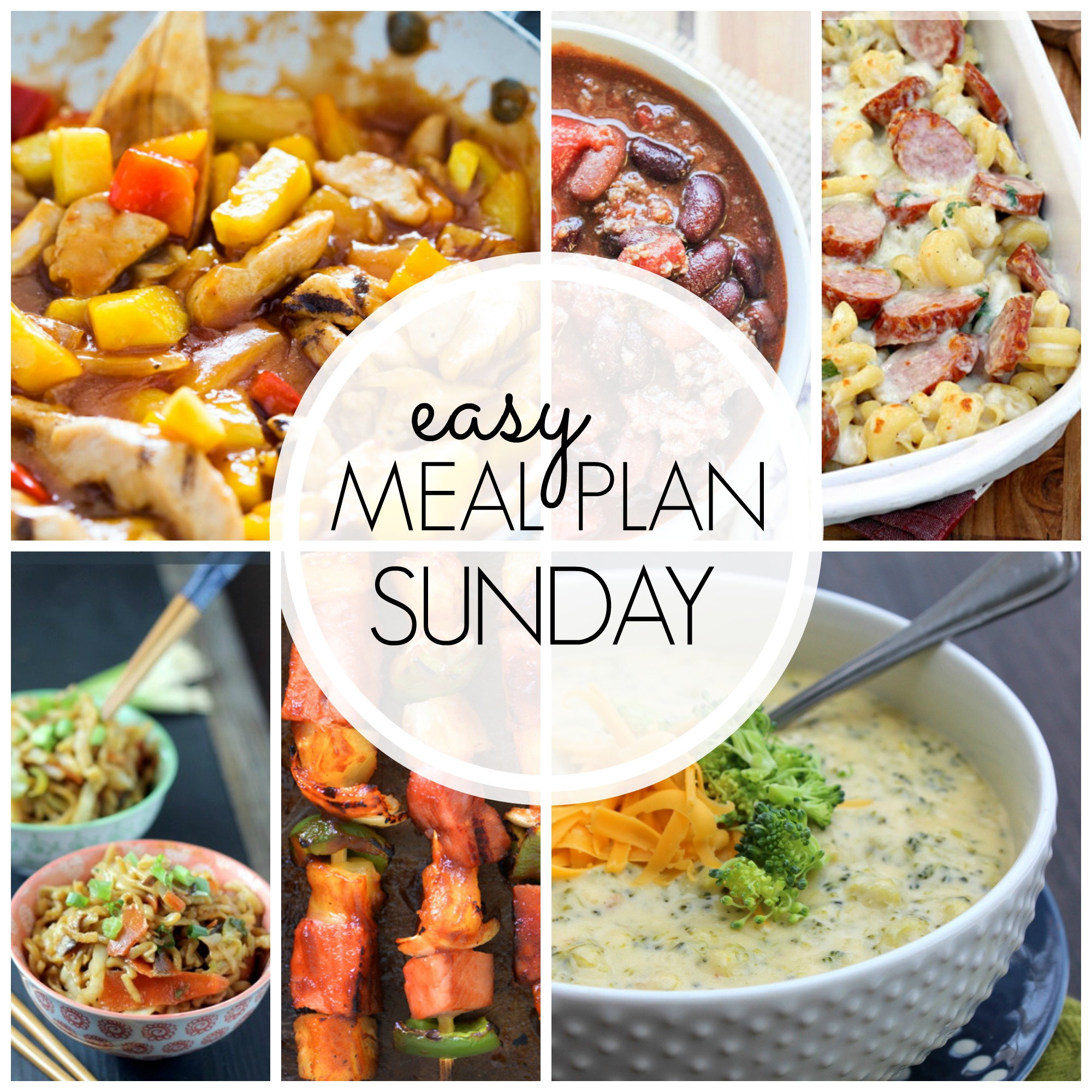 Easy Meal Plan Sunday #45