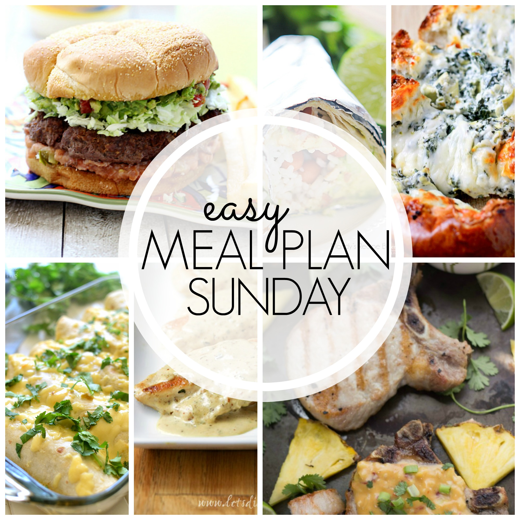 Easy Meal Plan Sunday #48