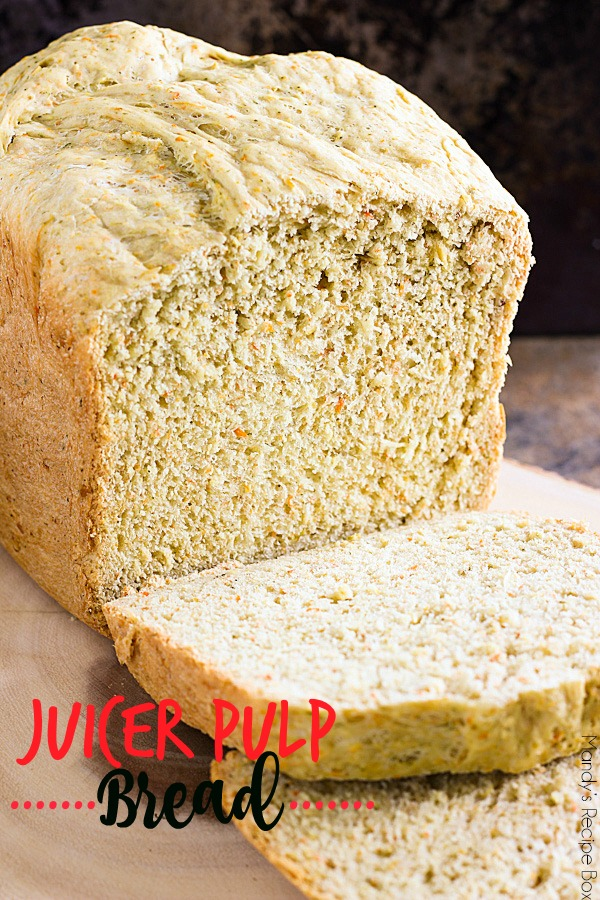 Juicer Pulp Bread