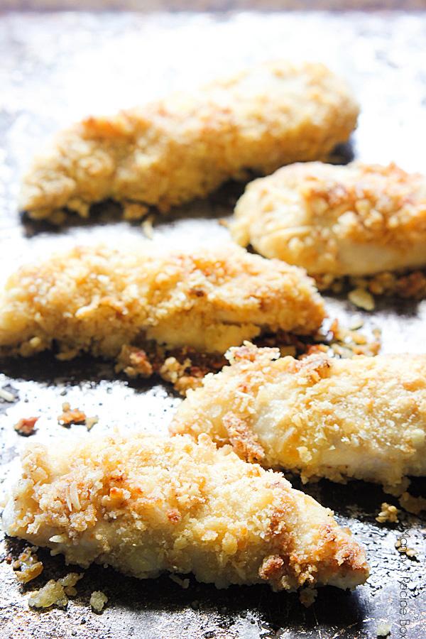 Baked Parmesan Chicken Tenders