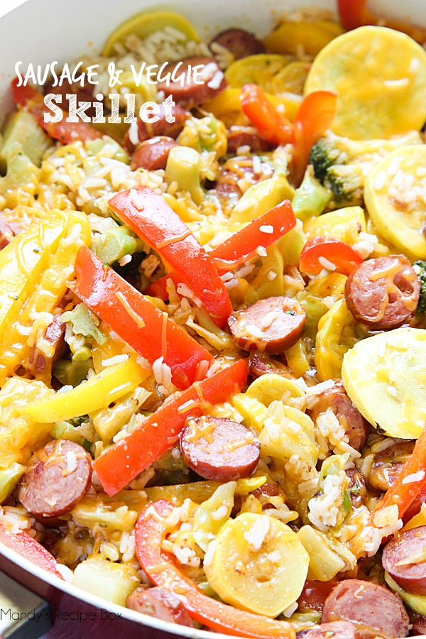 Sausage and Veggie Skillet