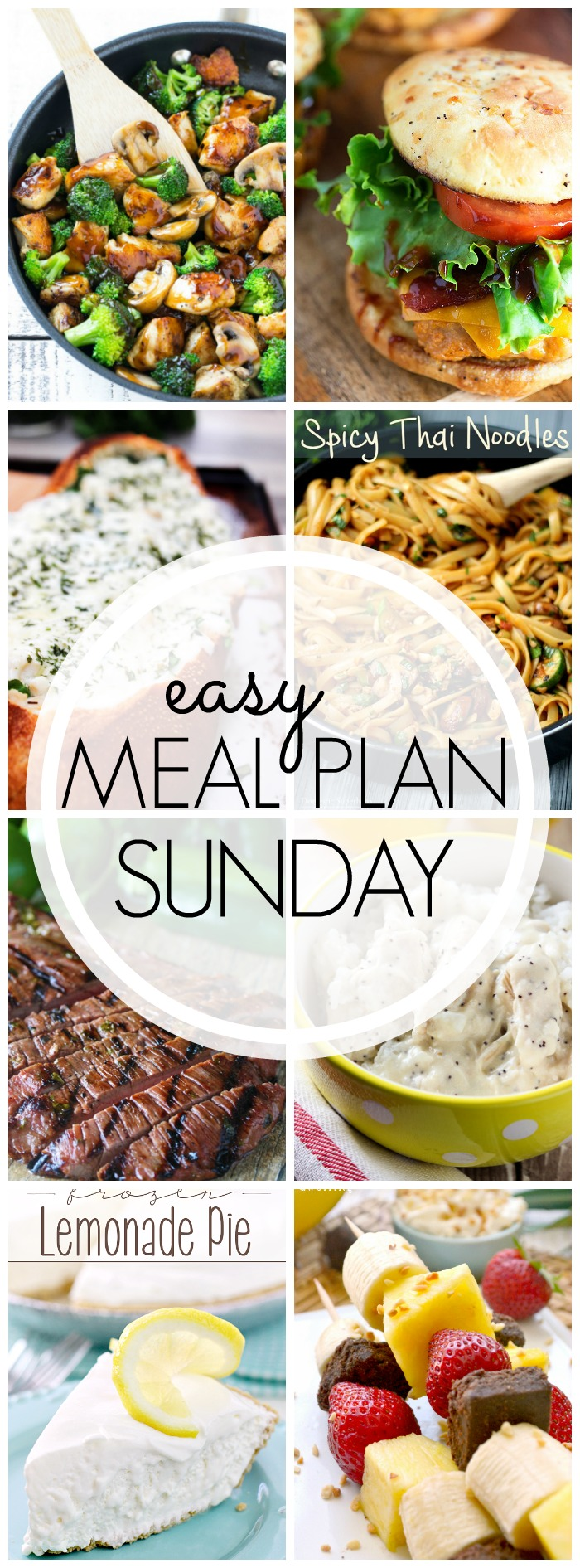 Easy Meal Plan Sunday #50