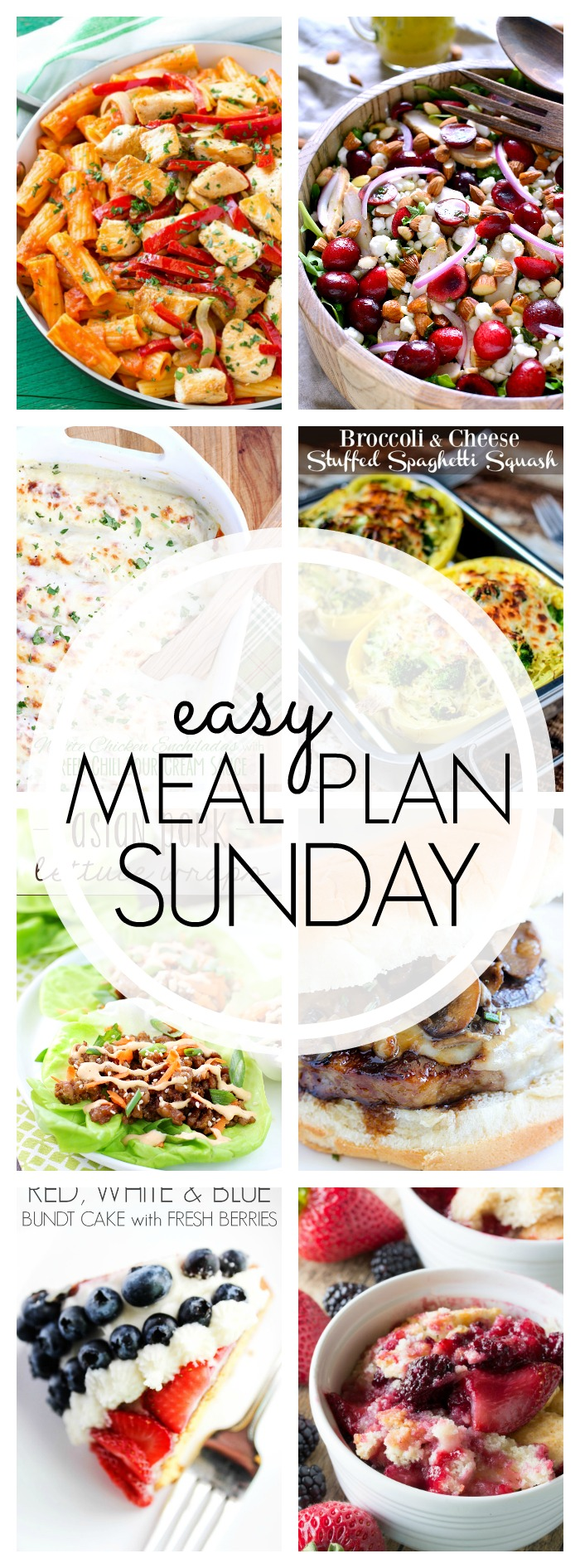 Easy Meal Plan Sunday #51