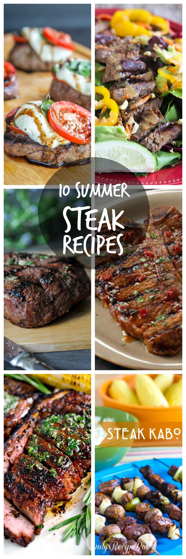 10 Summer Steak Recipes