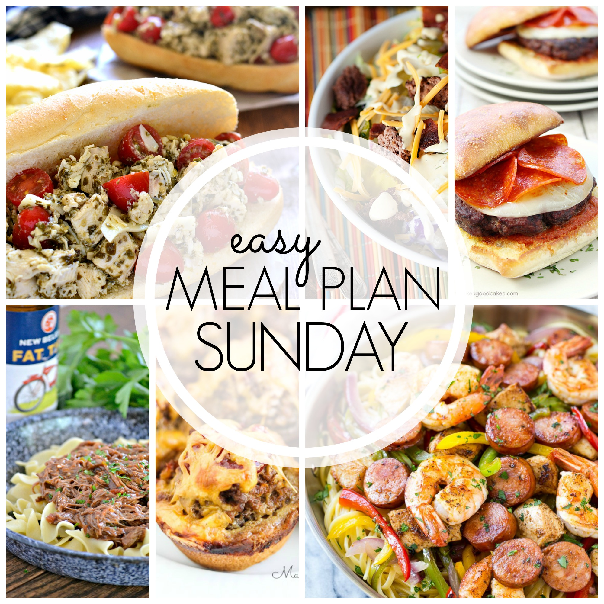 Easy Meal Plan Sunday #57