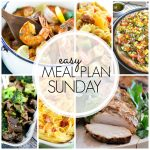 Easy Meal Plan Sunday #58