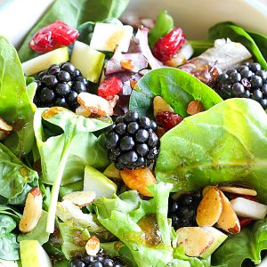 Blackberry and Pear Salad