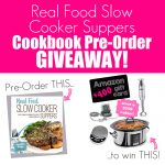 Real Food Slow Cooker Suppers Prize Giveaway
