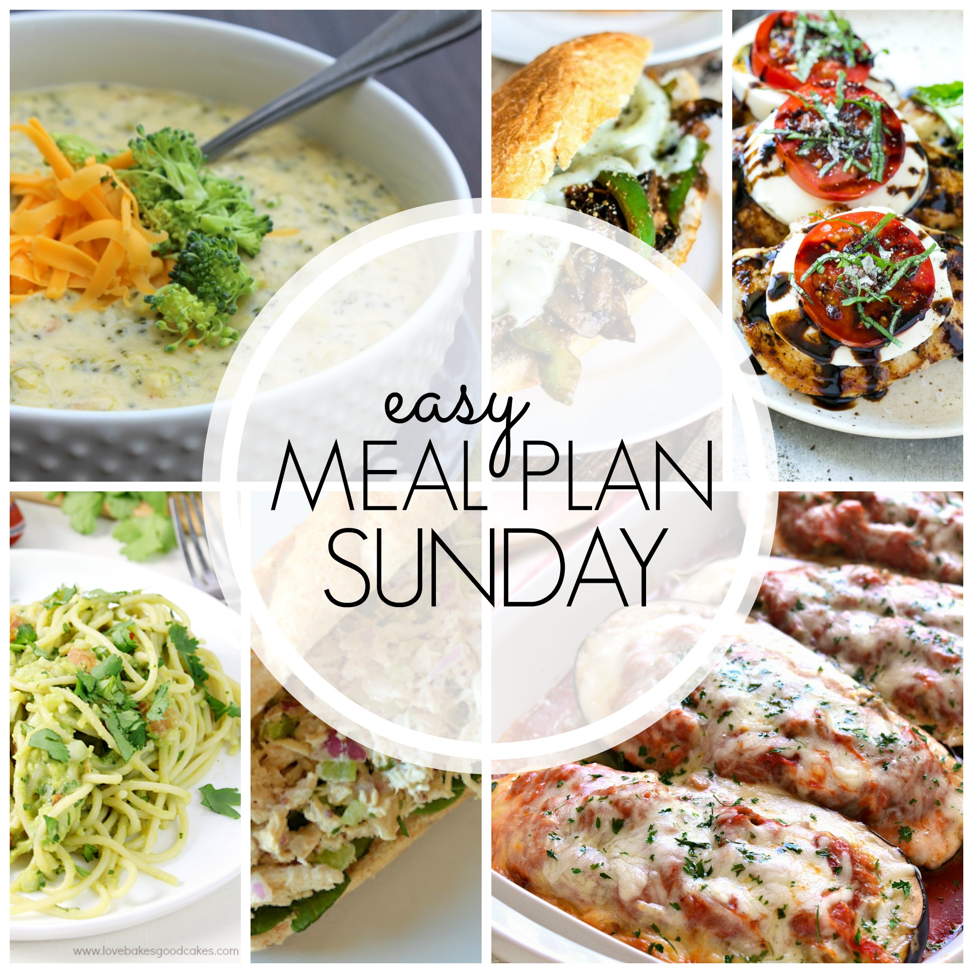 Easy Meal Plan Sunday #61