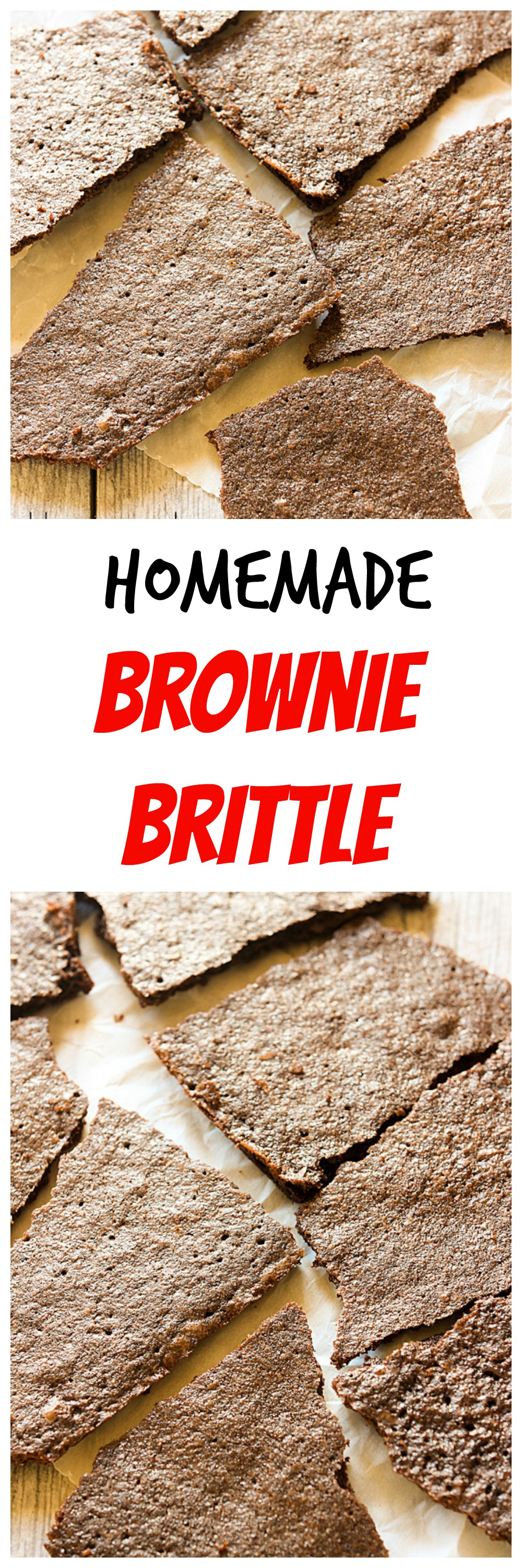 Homemade Brownie Brittle