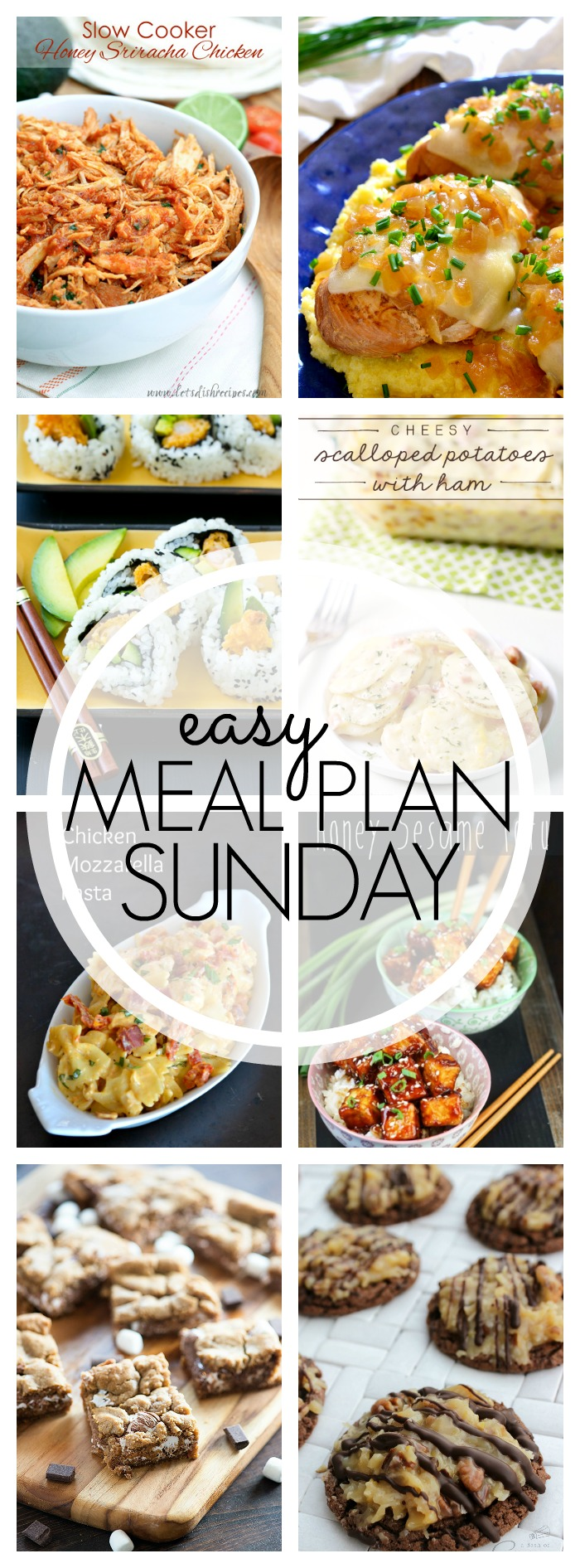 Easy Meal Plan Sunday #63