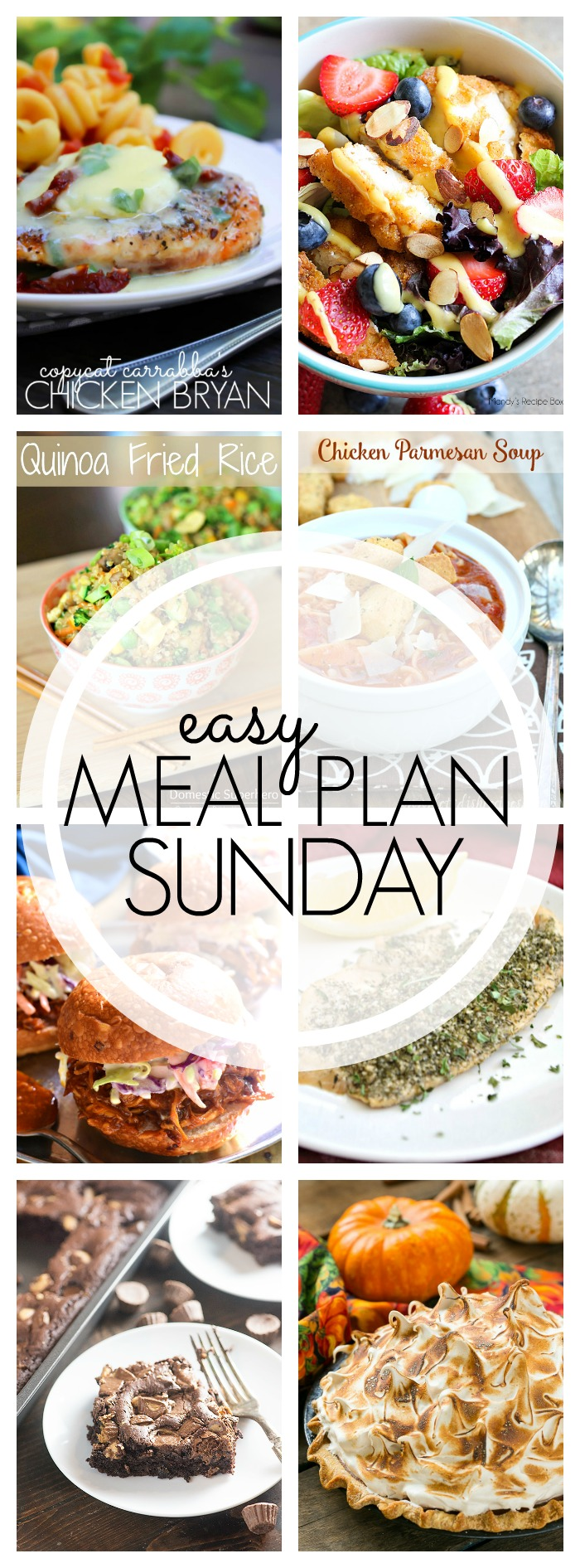 Easy Meal Plan Sunday #64
