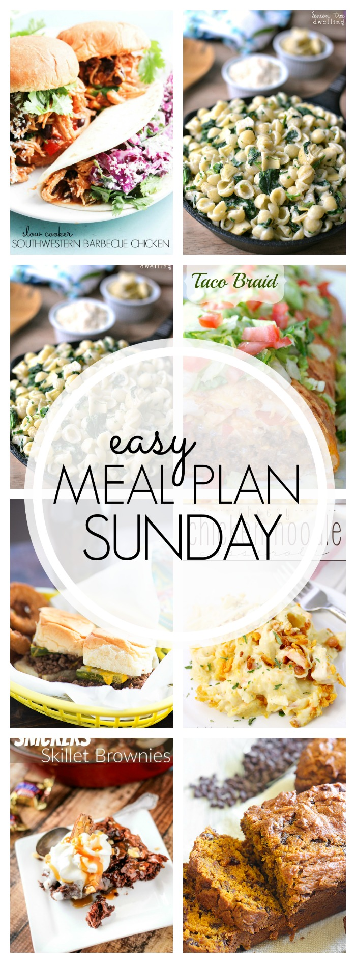 Easy Meal Plan Sunday #65
