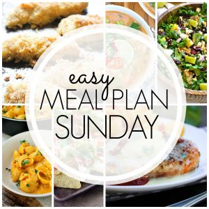 Easy Meal Plan Sunday #66