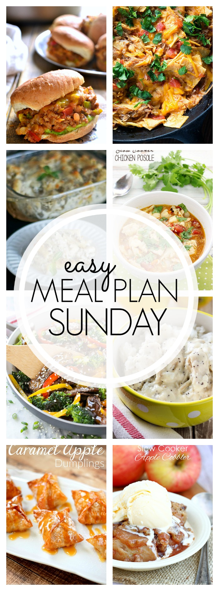 Easy Meal Plan Sunday #69