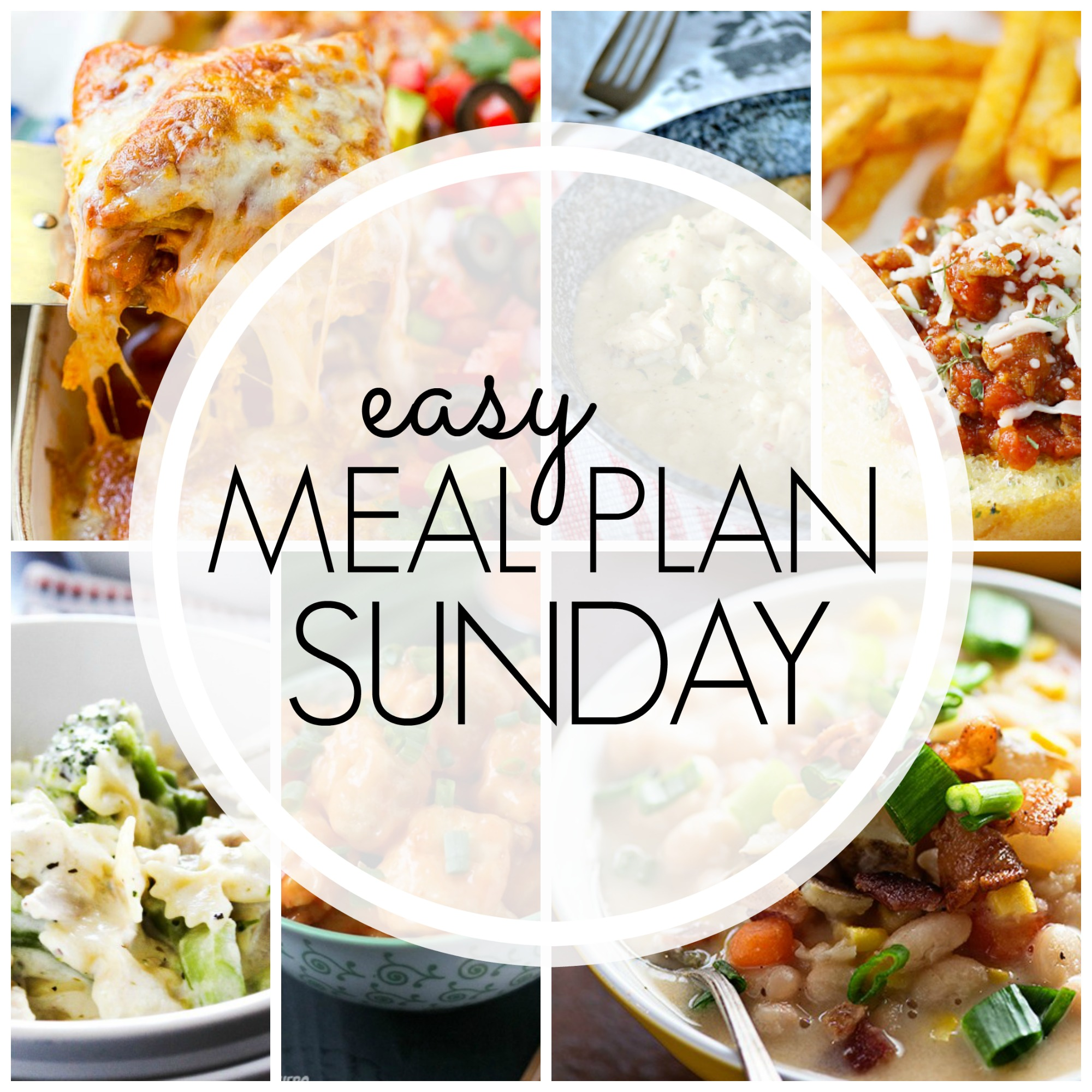Easy Meal Plan Sunday #75