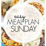 Easy Meal Plan Sunday #73