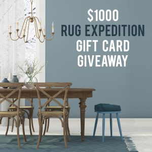 $1000 Rug Expedition Gift Card Giveaway