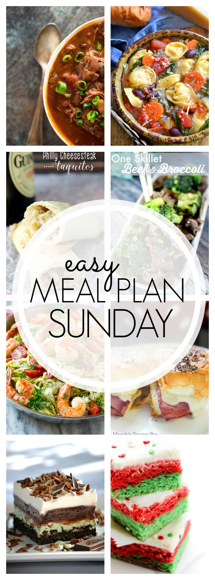 Easy Meal Plan Sunday #77