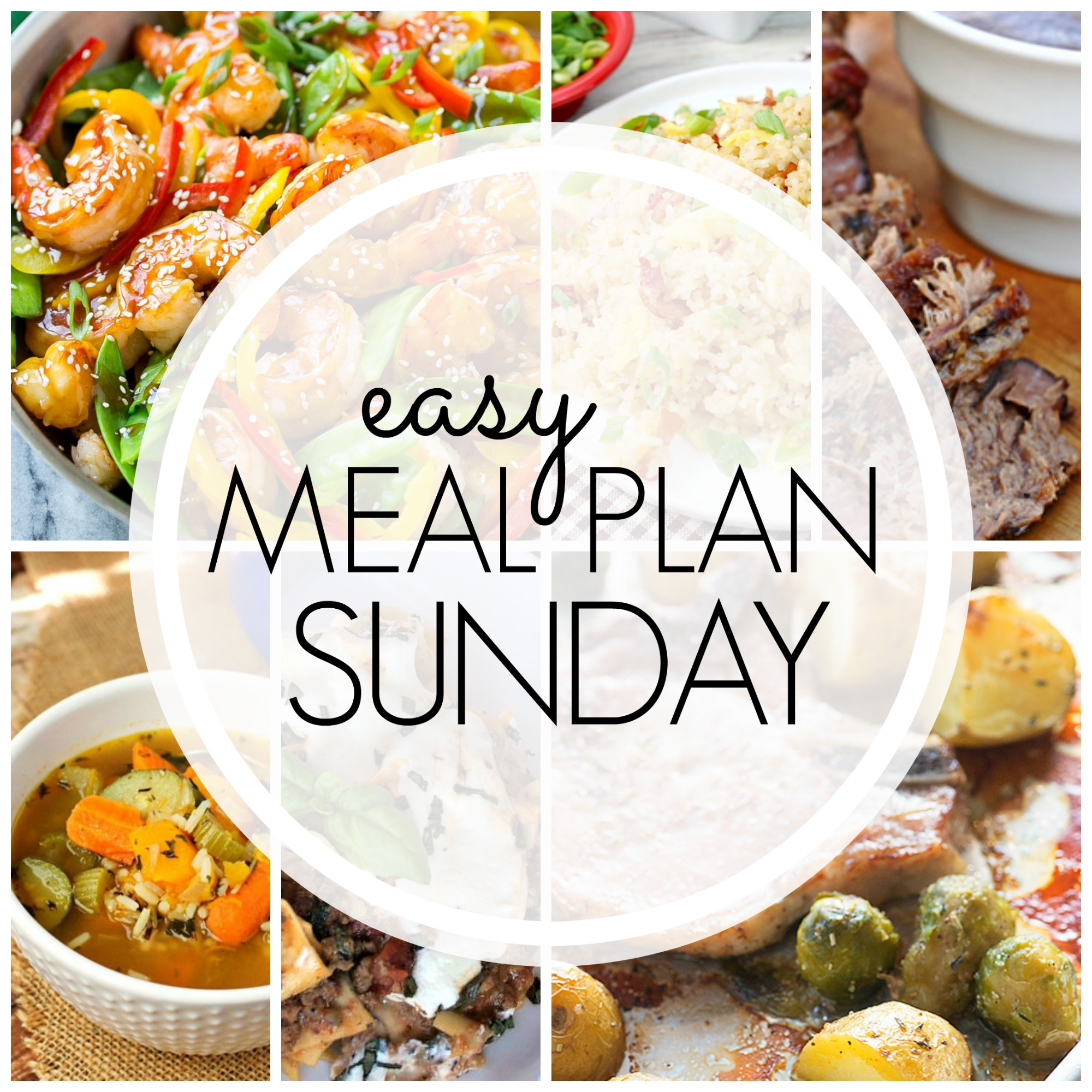 Easy Meal Plan Sunday #76