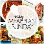 Easy Meal Plan Sunday #78