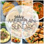 Easy Meal Plan Sunday #80