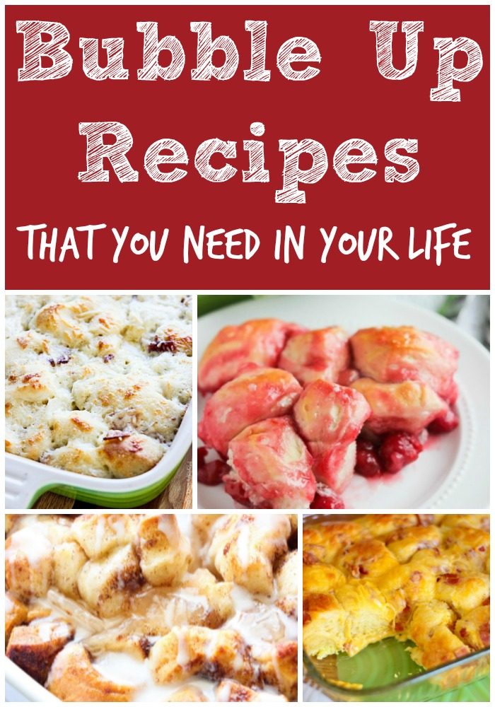 Bubble Up recipes
