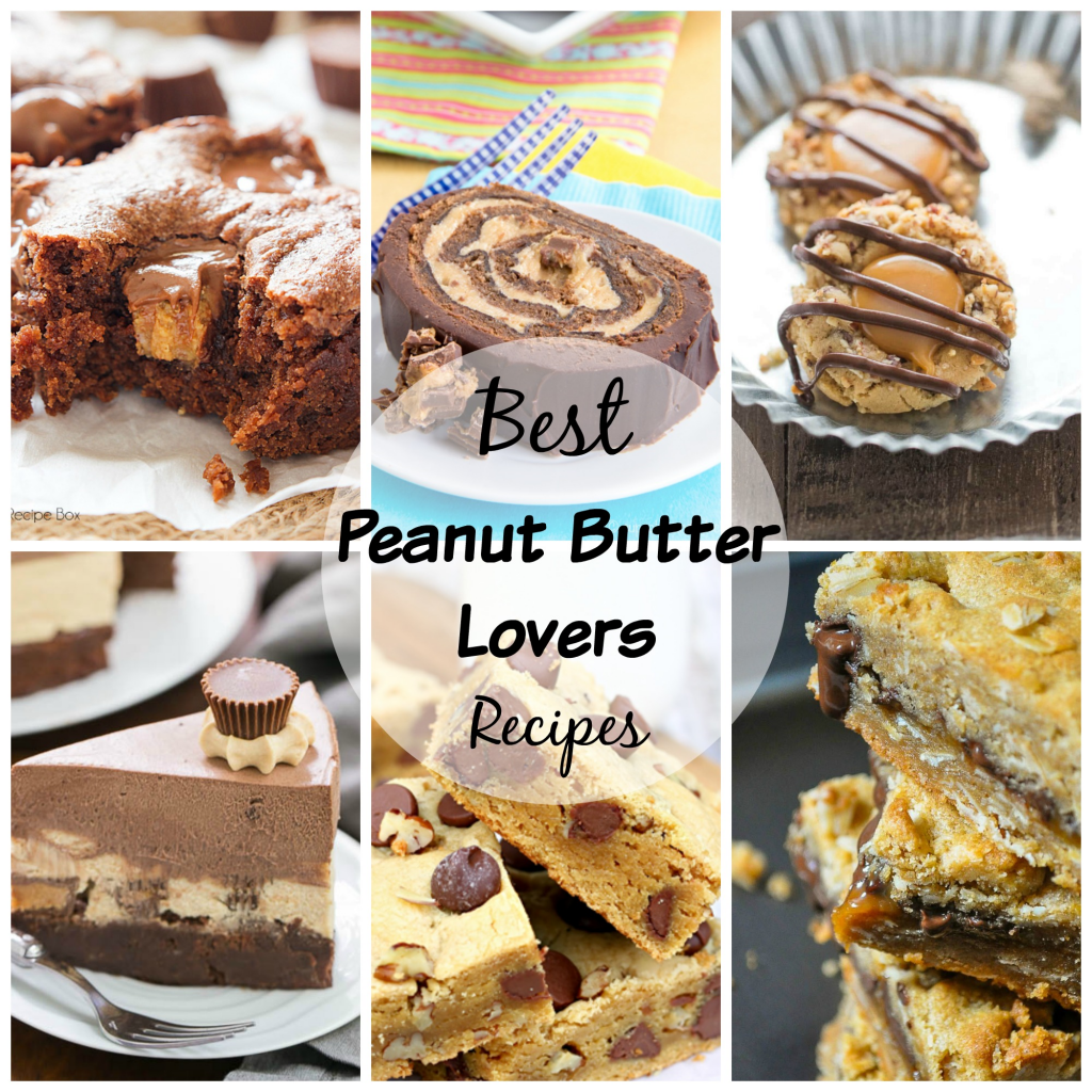 Peanut Butter Lovers Recipes