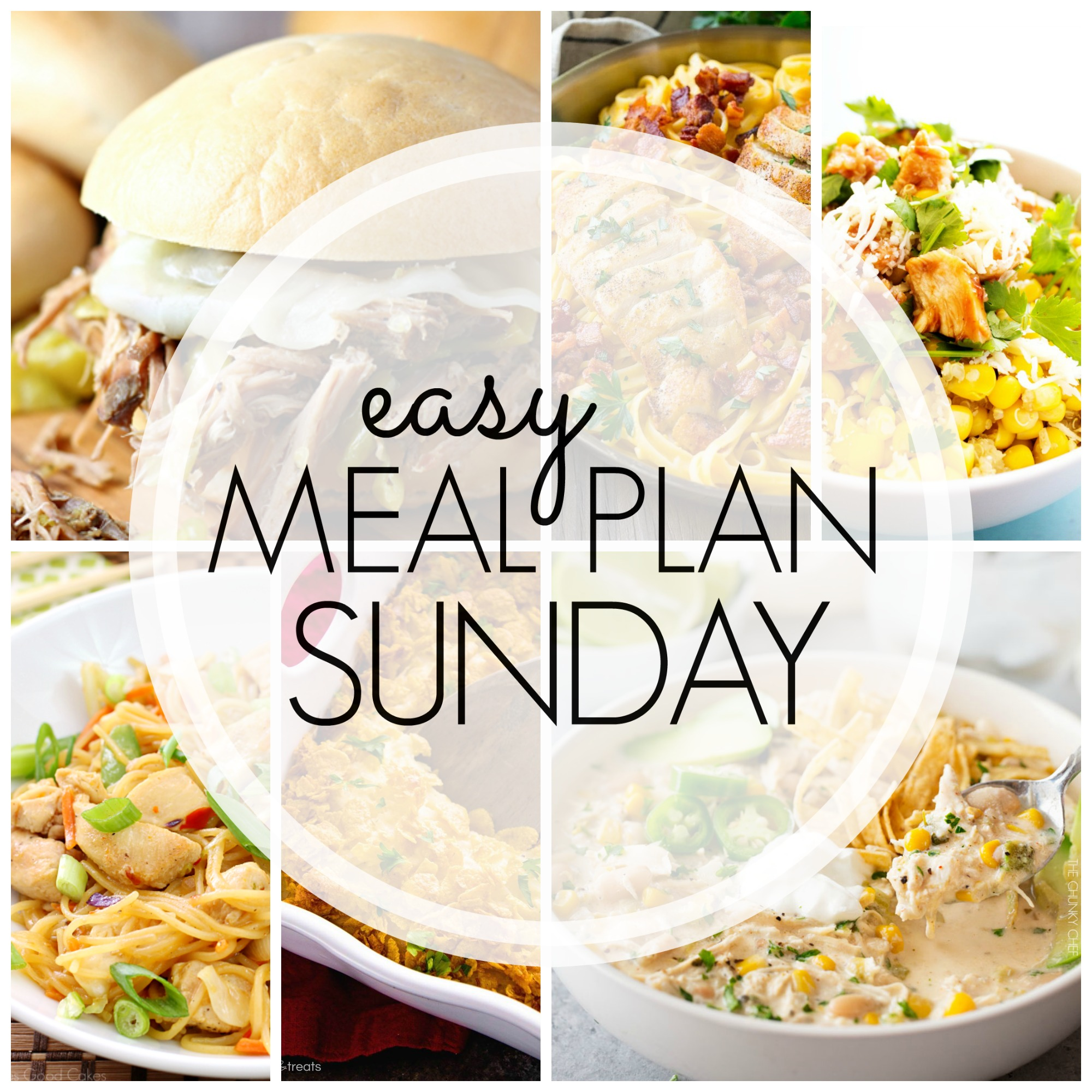 Easy Meal Plan Sunday #87