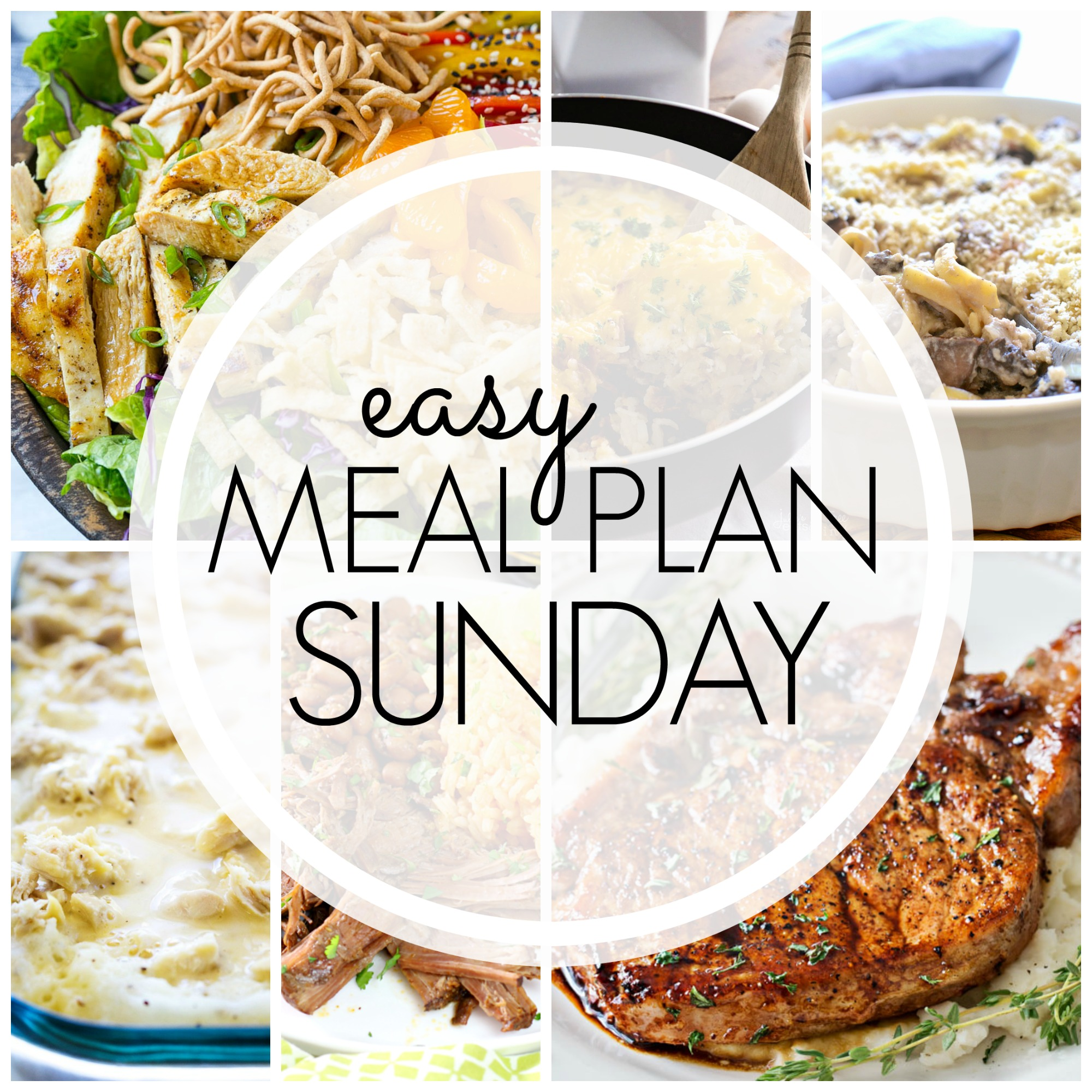 Easy Meal Plan Sunday #84
