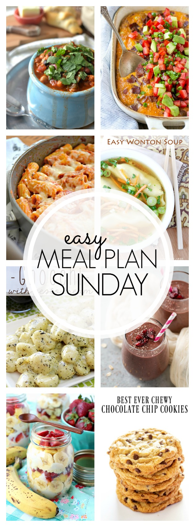 Easy Meal Plan Sunday #86