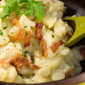 Old-Fashioned Wisconsin German Potato Salad