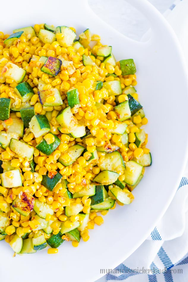 Sauted Corn and Zucchini