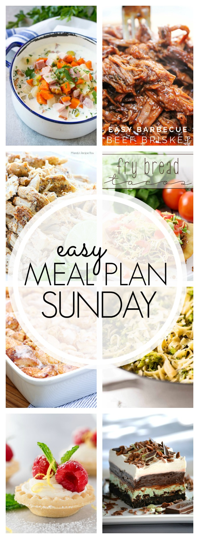 Easy Meal Plan Sunday #89