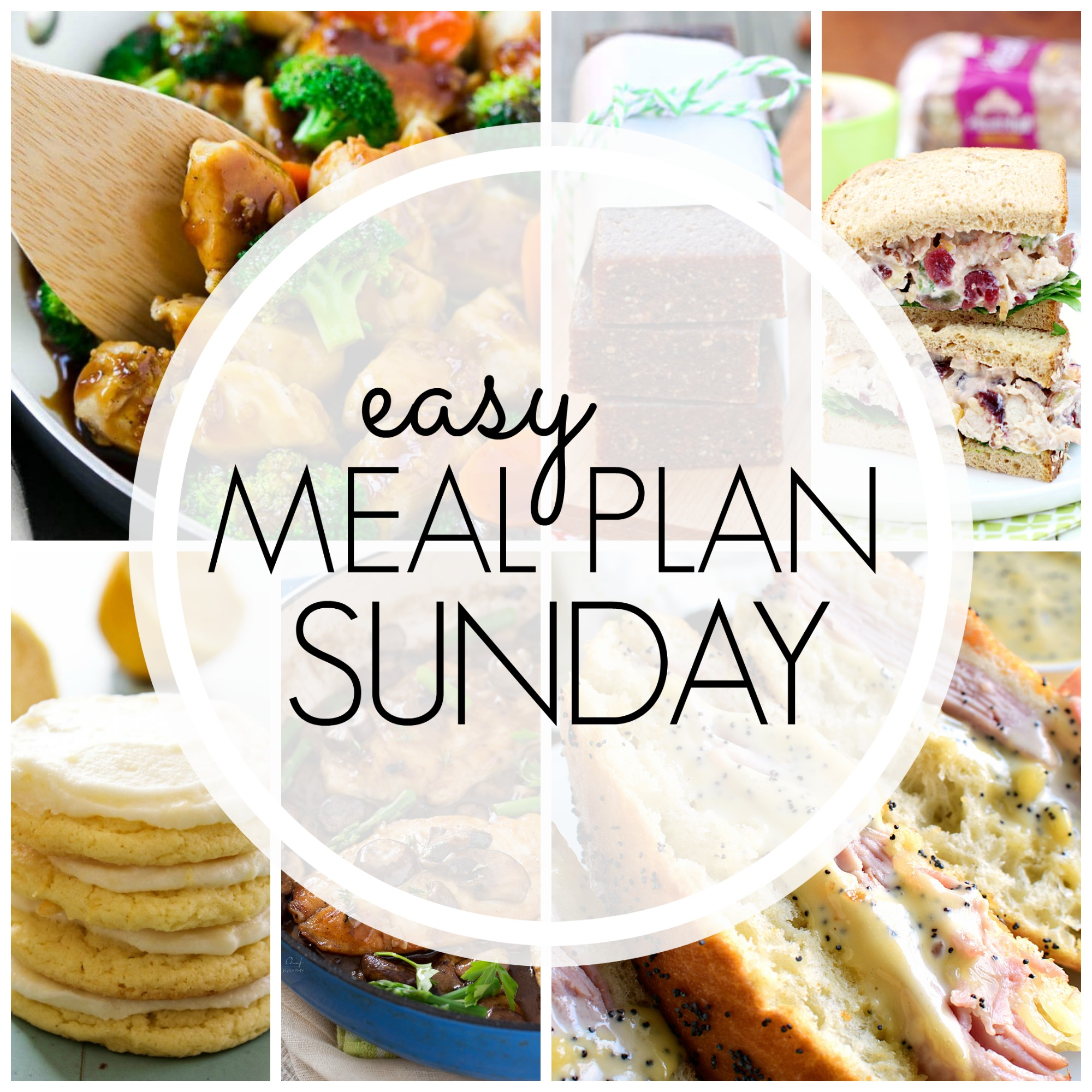 Easy Meal Plan Sunday #91