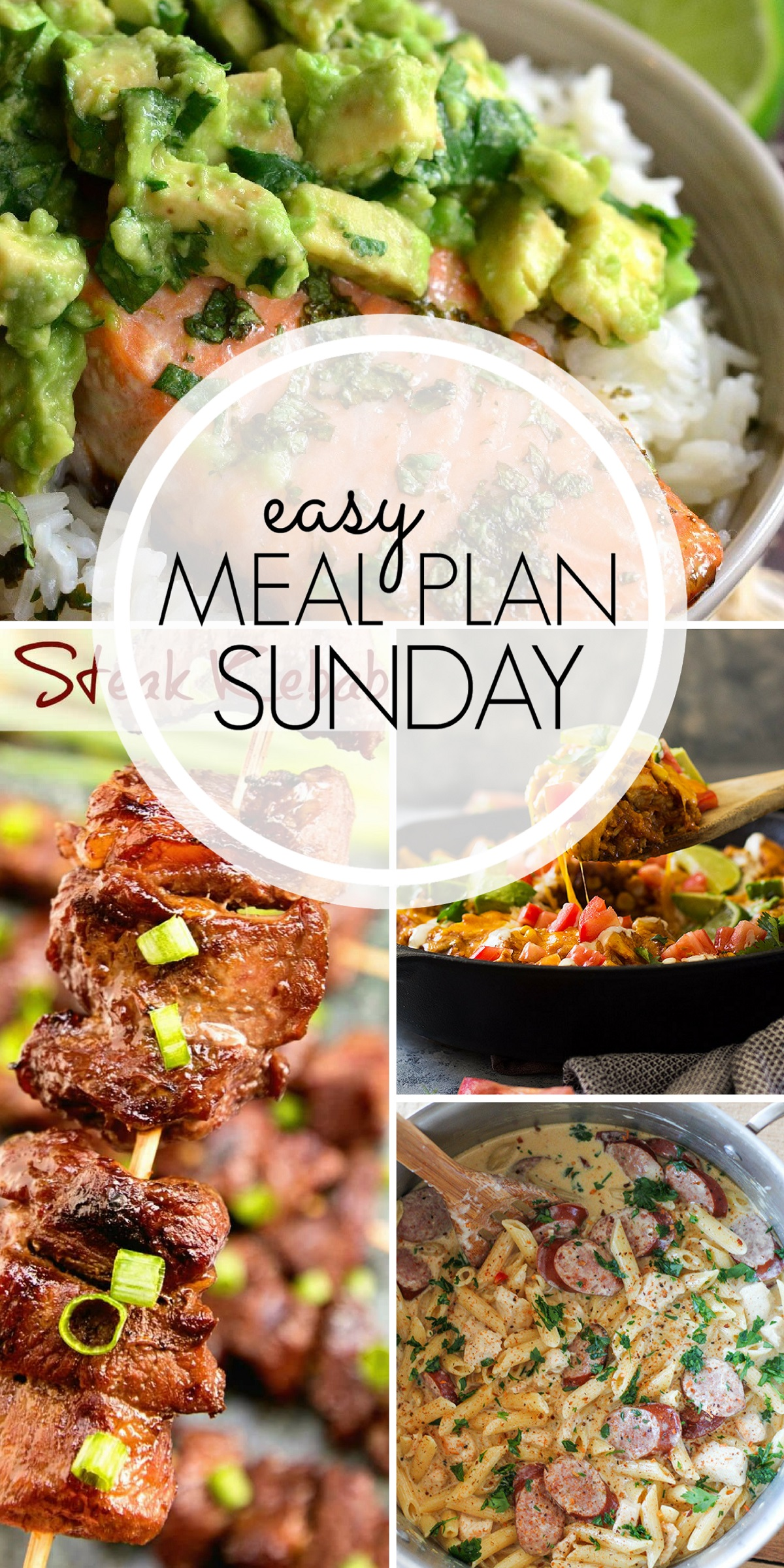 easy meal plan sunday #96