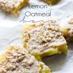 Lemon Oatmeal Bars