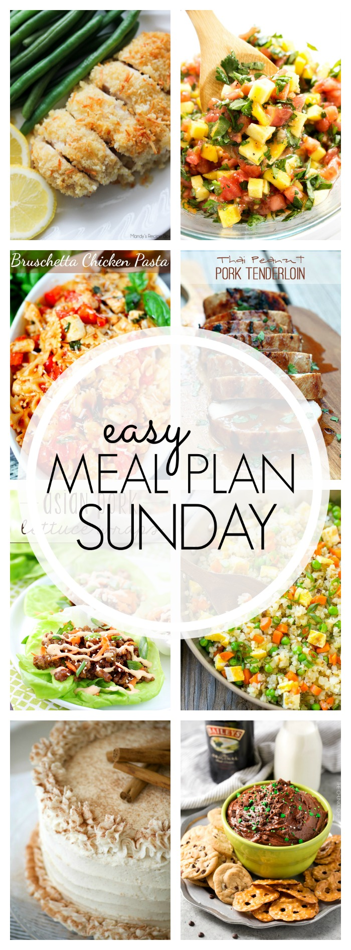 Easy Meal Plan Sunday #92