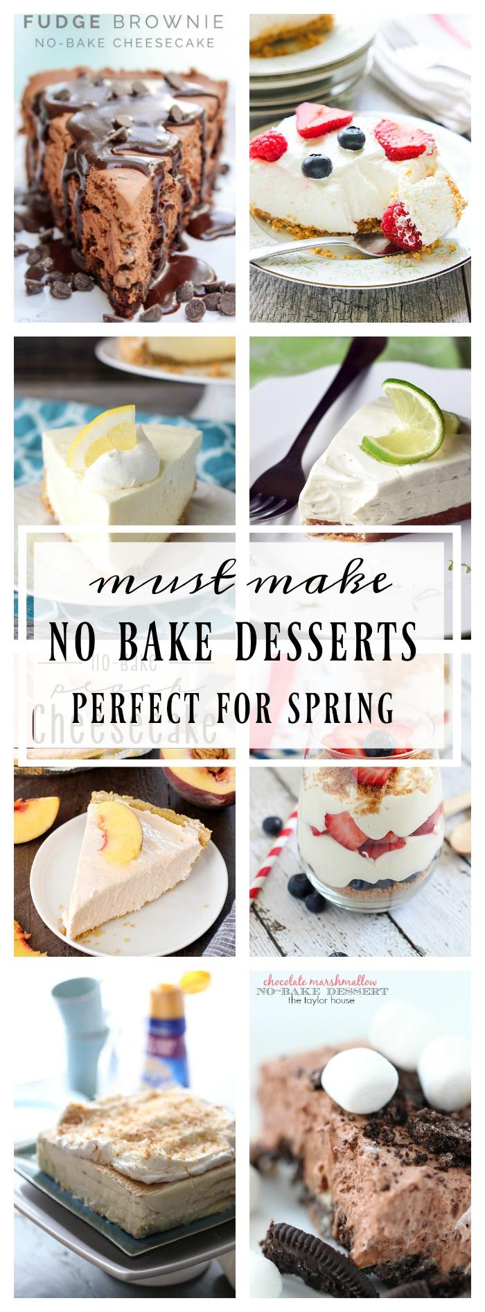 no bake recipes for spring