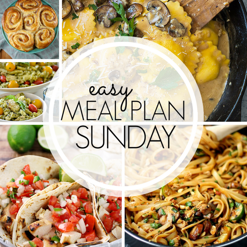 Easy Meal Plan Sunday #97
