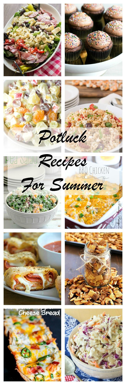 potluck recipes for summer