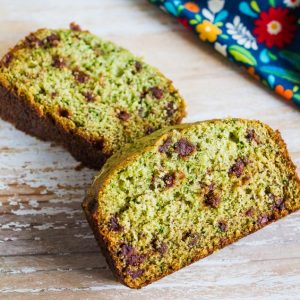 Spinach Banana Bread With Chocolate Chips