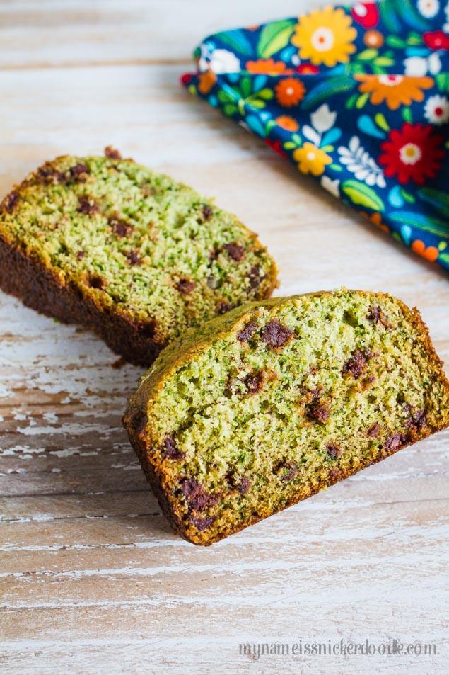 spinach banana bread