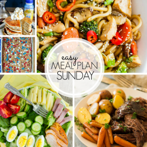 Easy Meal Plan Sunday #102