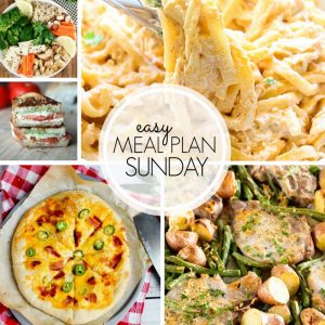 Easy Meal Plan Sunday #103