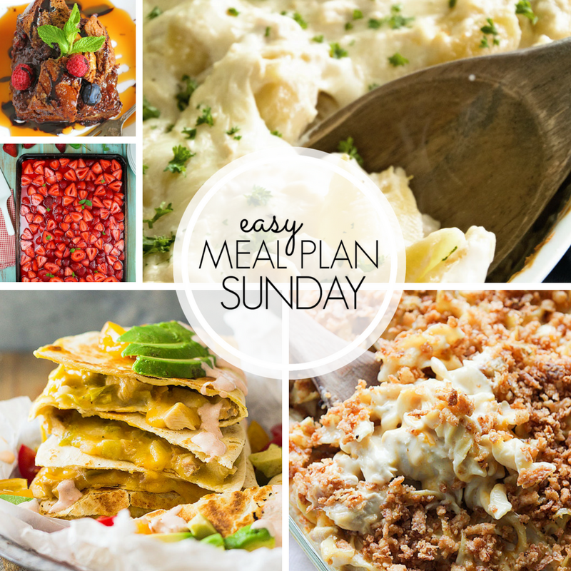 Easy Meal Plan Sunday #104