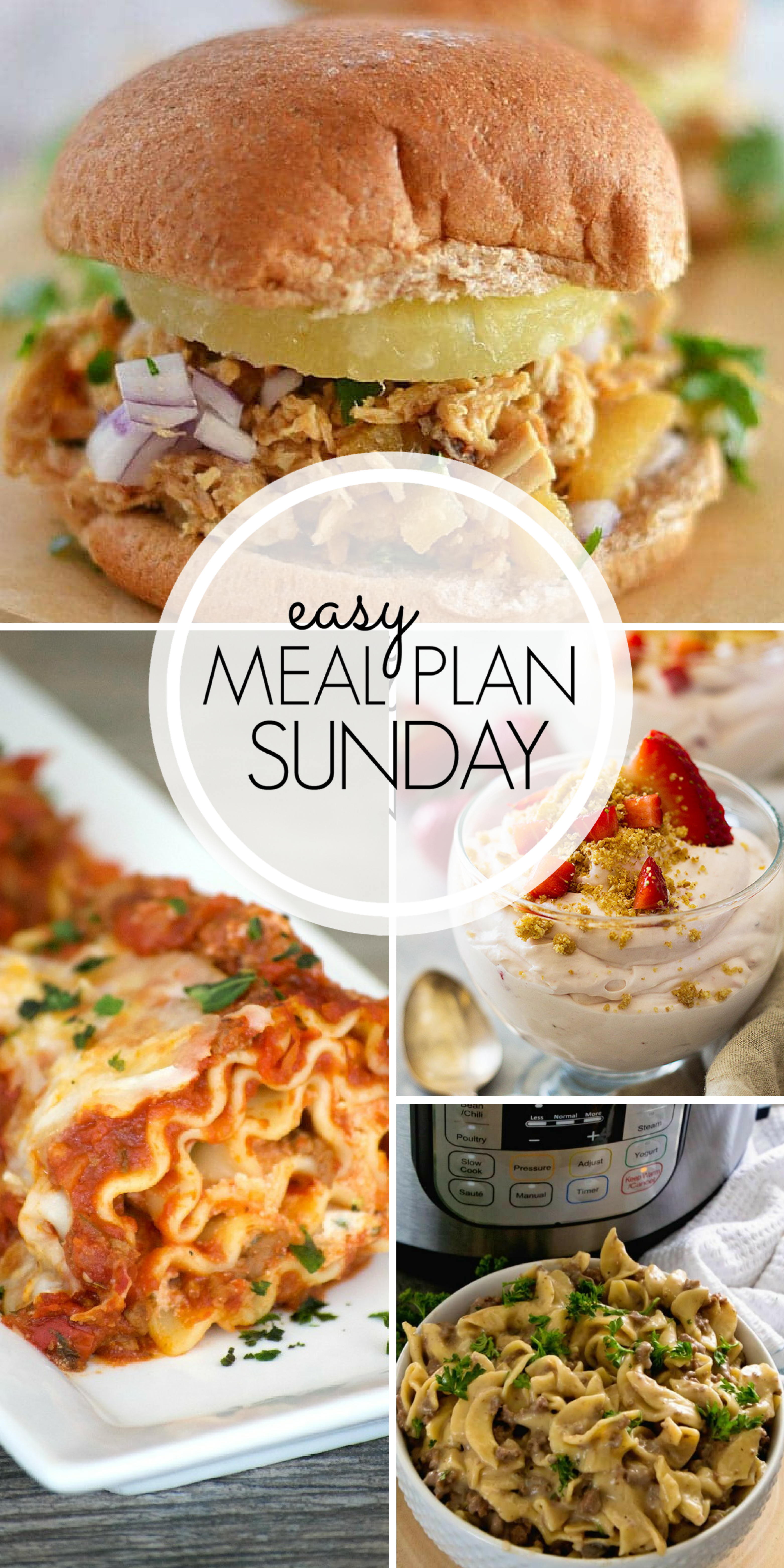 easy meal plan sunday #101