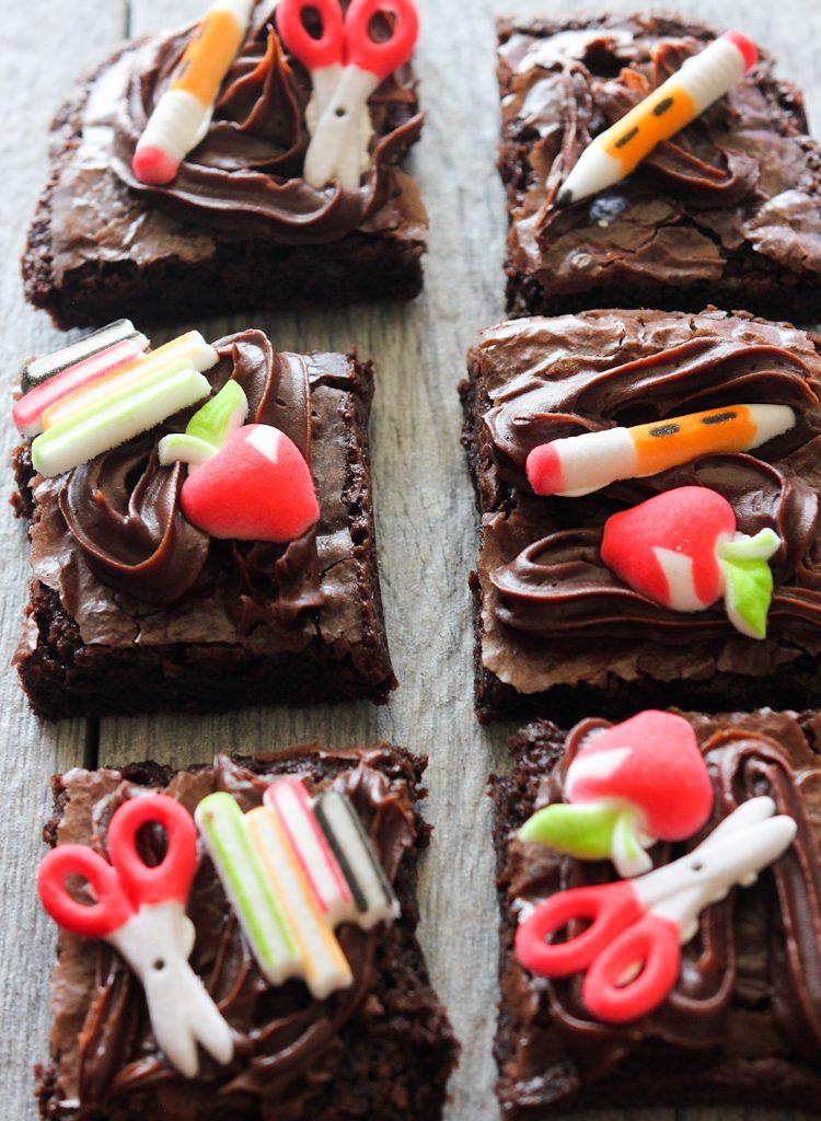 Back to School Brownies